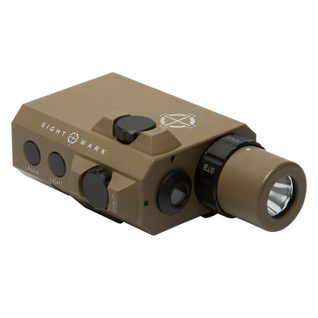 Sightmark LoPro Mini Combo Flashlight and Green Laser Sight - Dark Earth SM25012DE