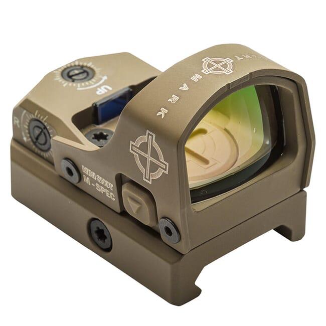 Sightmark Mini Shot M-Spec FMS 3 MOA Dot Dark Earth Reflex Sight SM26043DE