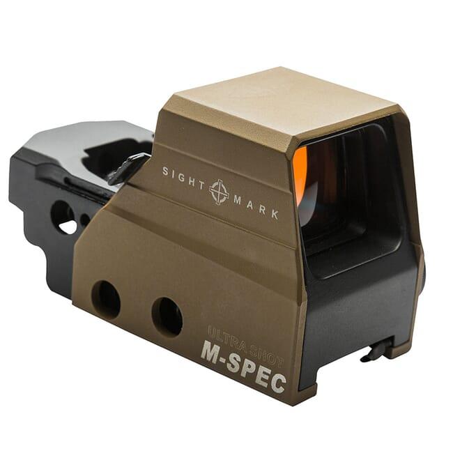 Sightmark Ultra Shot M-Spec FMS 65 MOA Circle Dot Reflex Sight - Dark Earth SM26035DE