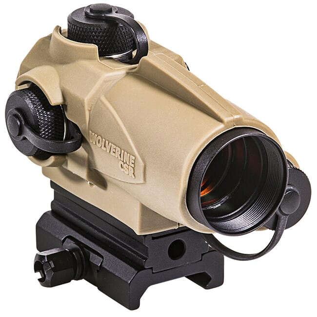 Sightmark Wolverine CSR Red 4 MOA Dot Flat Dark Earth Sight SM26021DE