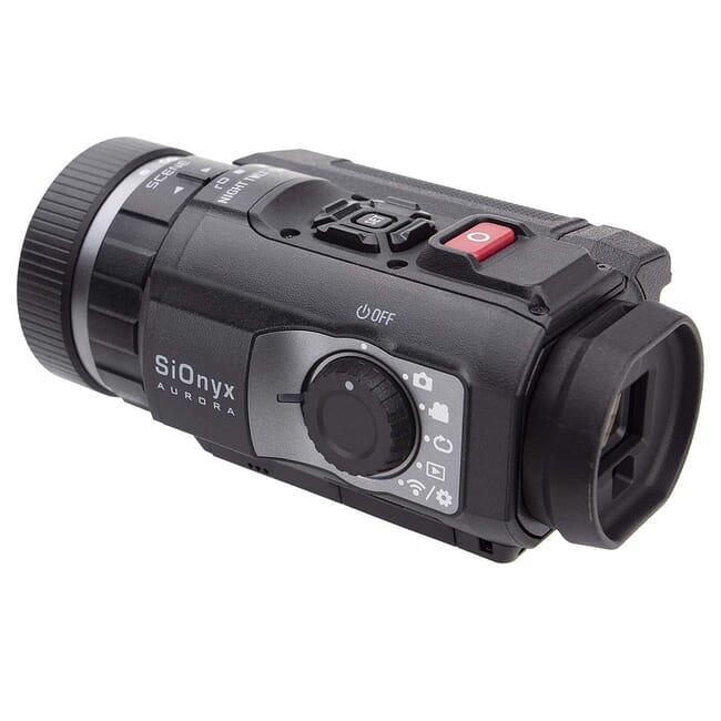 SiOnyx Aurora Black Color Digital Night Vision Camera w/Mount C011200
