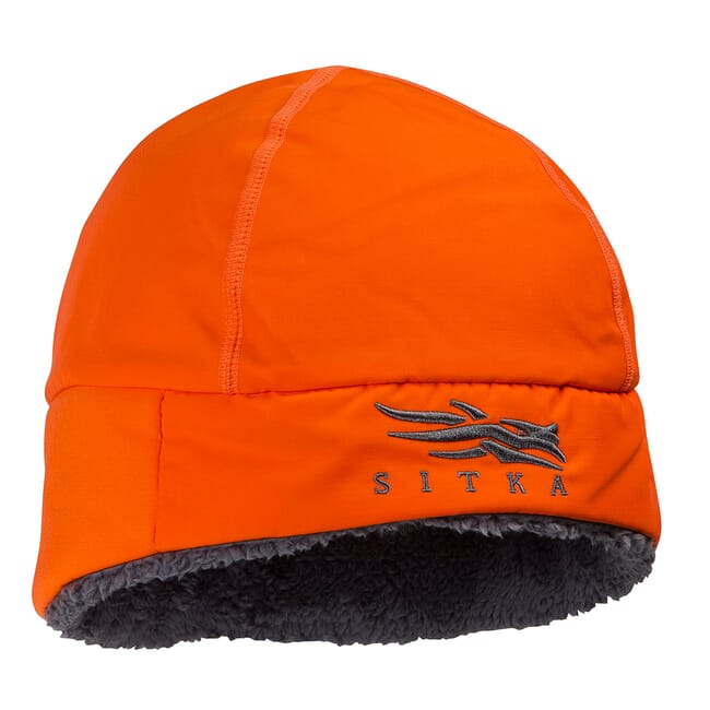 Sitka Blaze Orange Ballistic Beanie One Size Fits All 90082-BL-OSFA