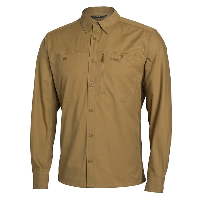 Sitka Harvester Shirt Clay Small 80010-CL-S