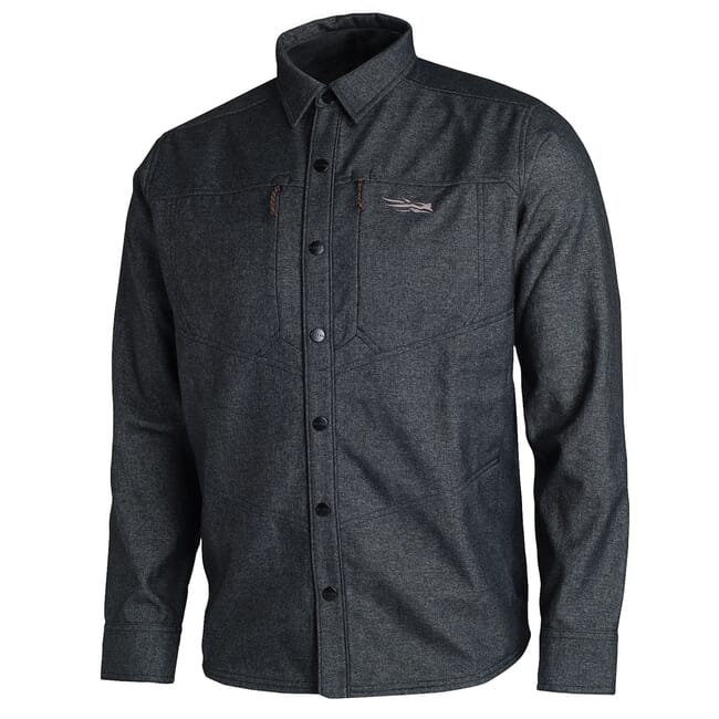 Sitka TTW Highland Overshirt Black 80015-BK