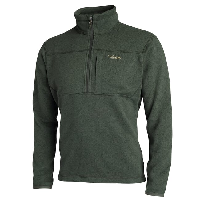 Sitka TTW Fortitude Half-zip Deep Olive 80012-DO