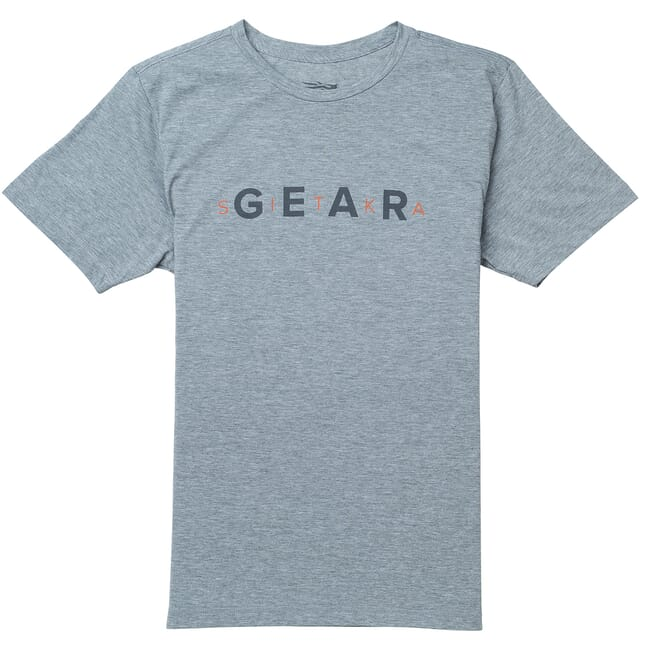 Sitka Gear Tee SS Heather Grey 20093-HG