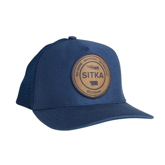 Sitka Seal Five Panel Patch Trucker Navy OSFA