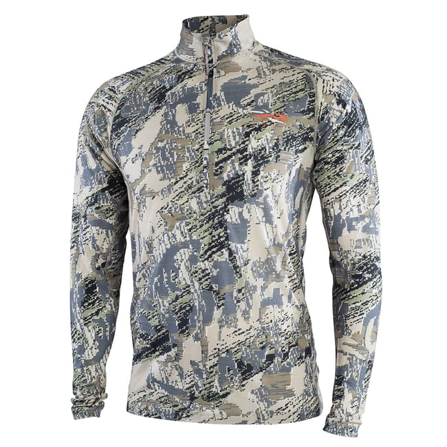 Sitka Open Country Merino CORE Ltwt Half-Zip Optifade Open Country Small 10056-OB-S