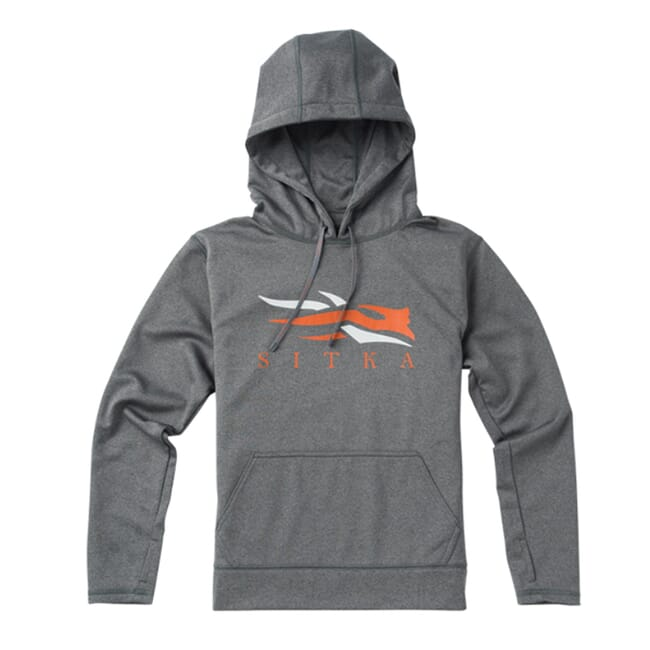 Sitka Youth Logo Hoody Lead 20120-PB