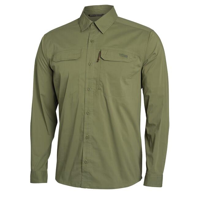 Sitka Globetrotter Shirt LS Forest 80031-FO