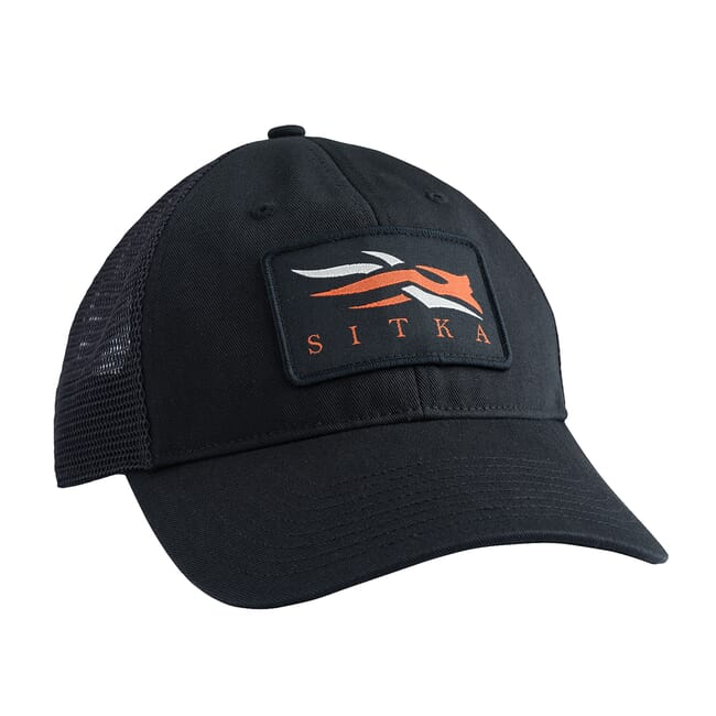 Sitka Meshback Trucker Cap Sitka Black One Size Fits All 90269-BK-OSFA