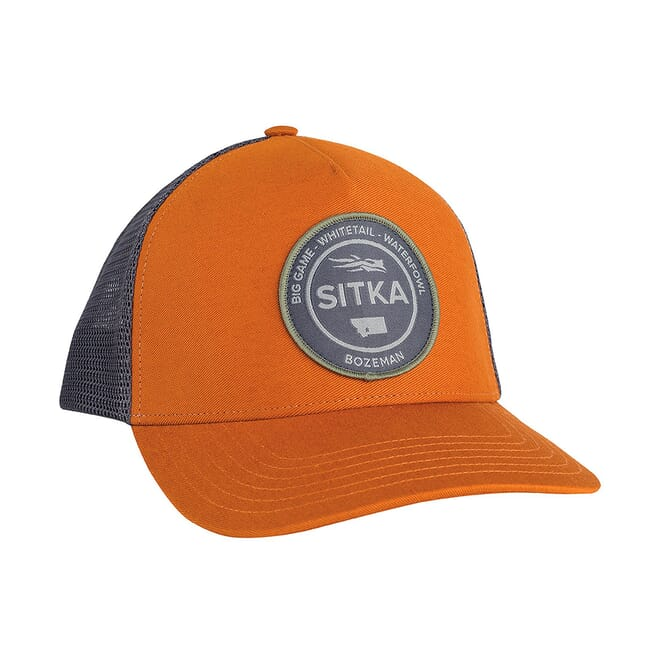 Sitka Sitka Seal Five Panel Patch Trucker Rust One Size Fits All 20082-RU-OSFA