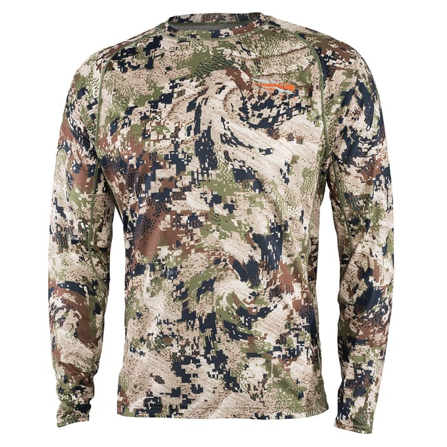 Sitka CORE Lt Wt Crew - LS Optifade Subalpine Small 10064-SA-S