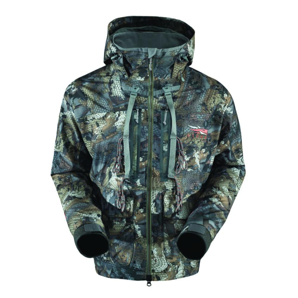 Sitka Delta Wading Jacket Optifade Timber Small|50119-TM-S