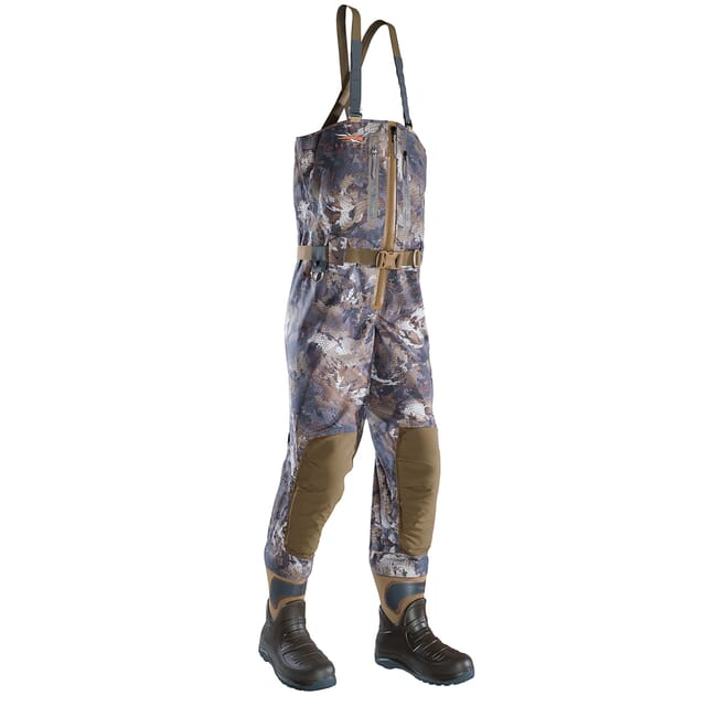Sitka Timber Delta Zip Wader Optifade Timber Extra Large 10 Boot 50169-TM-XL-10