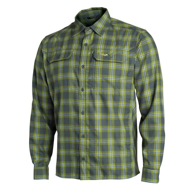 Sitka TTW Frontier Shirt Lichen Plaid 80011-LZ