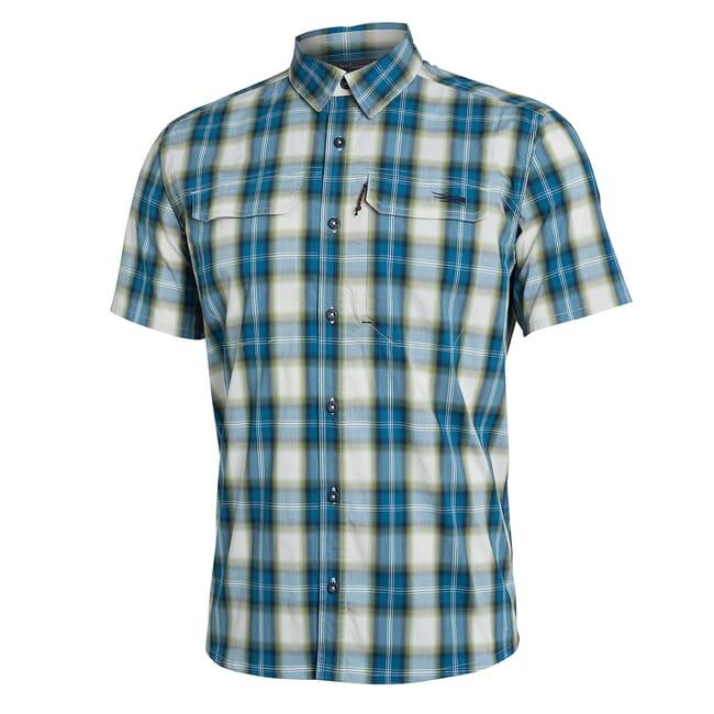 Sitka Globetrotter Shirt SS Fog Plaid 80032-FP