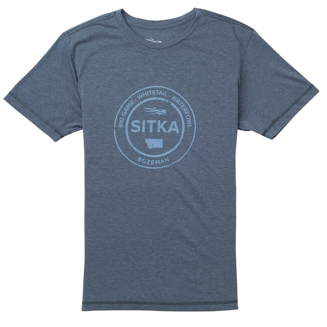 Sitka Seal Tee SS Storm Heather 20116-ZZ