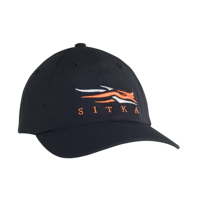 Sitka Solids Sitka Cap Sitka Black One Size Fits All 90101-BK-OSFA