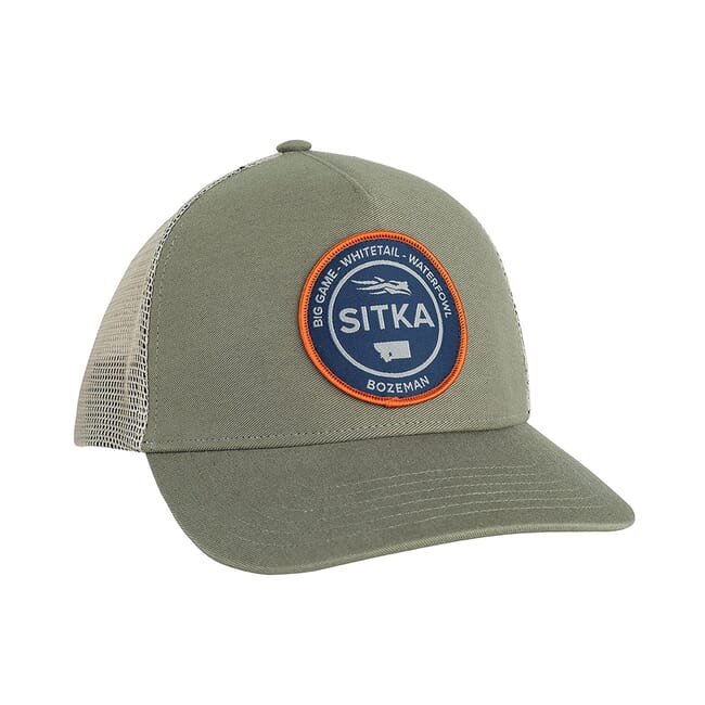 Sitka Sitka Seal Five Panel Patch Trucker Cargo One Size Fits All 20082-CA-OSFA