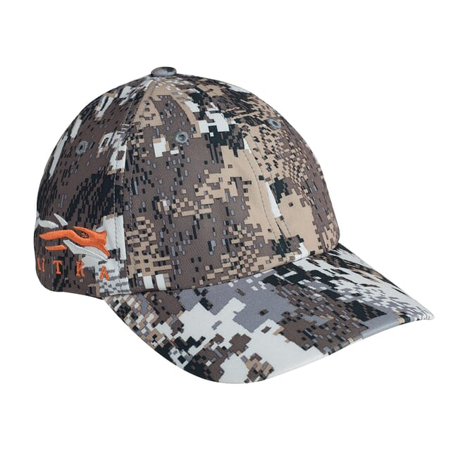 Sitka Elevated II Sitka Cap W/Side Logo Optifade Elevated II One Size Fits All 90102-EV-OSFA