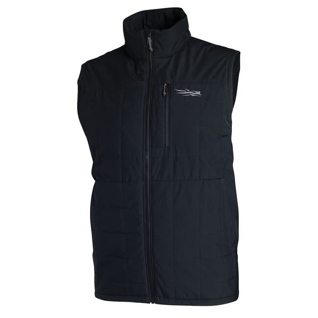 Sitka TTW Grange Vest Sitka Black 80018-BK