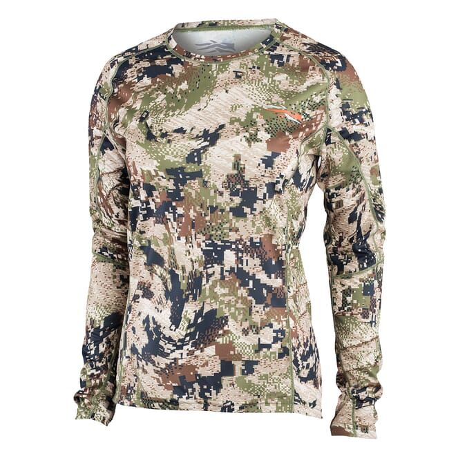 Sitka Women's Core Lt Wt Crew - LS Optifade Subalpine 10076-SA