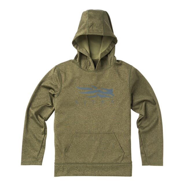 Sitka Youth Logo Hoody Forest 20120-FO