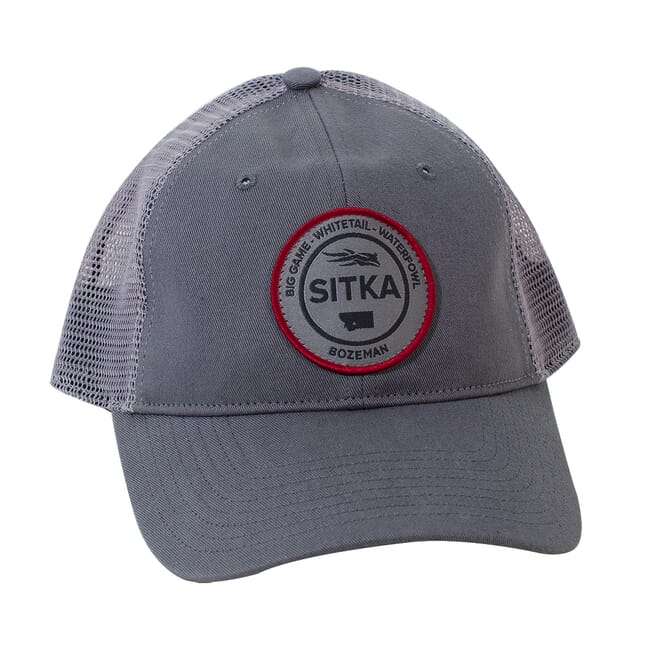 Sitka Womens Sitka Seal Meshback Trucker Cap Woodsmoke One Size Fits All 90232-WS-OSFA