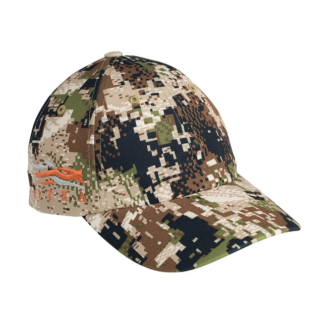 Sitka Subalpine Sitka Cap W/Side Logo Optifade Subalpine One Size Fits All 90102-SA-OSFA