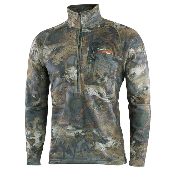Sitka Grinder Half Zip Optifade Timber Small 70020-TM-S