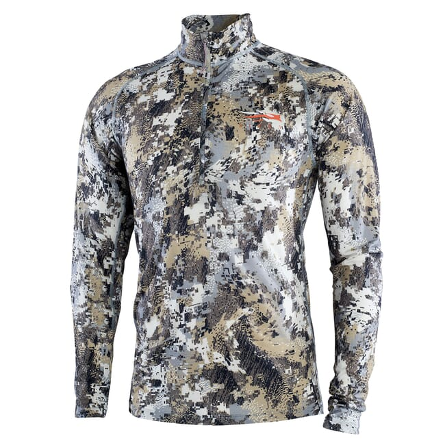 Sitka Elevated II Merino CORE Ltwt Half-Zip Optifade Elevated II XXX Large 10056-EV-3XL