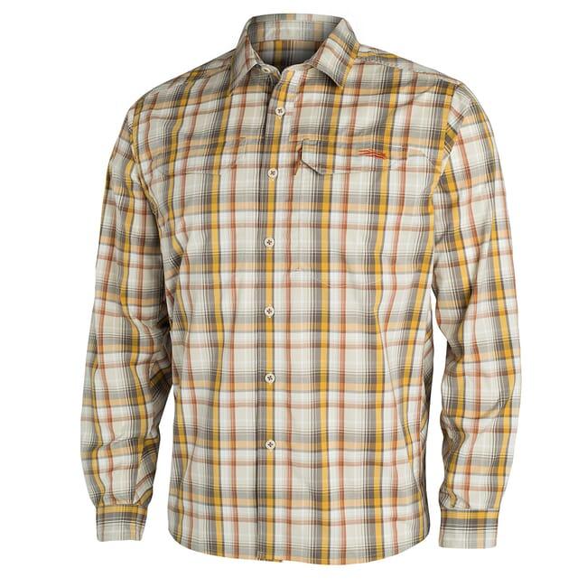 Sitka TTW Globetrotter Shirt LS Sand Plaid 80002-ZP