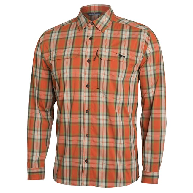 Sitka Globetrotter Shirt LS Canyon Plaid 80031-CZ