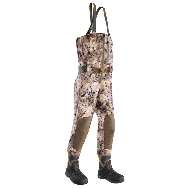 Sitka Marsh Delta Zip Wader Optifade Waterfowl Extra Large 10 Boot 50169-WL-XL-10