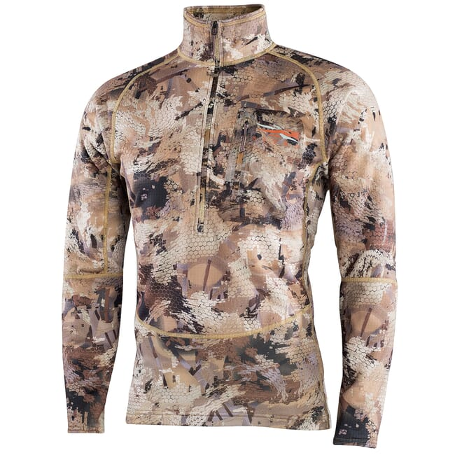 Sitka Marsh Grinder Half-Zip Optifade Waterfowl Large 70024-WL-L