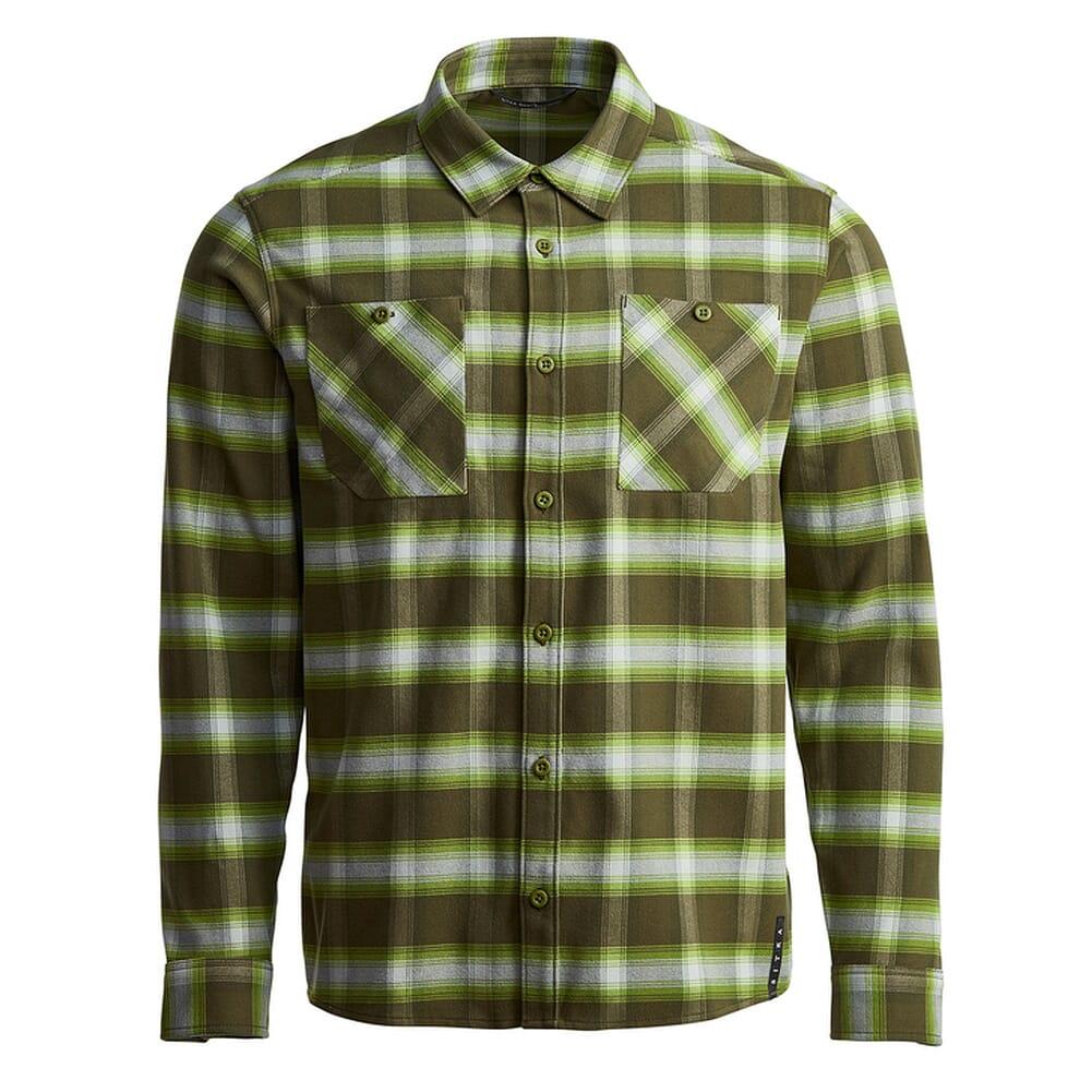 Sitka Gear Riser Work Shirt Covert Plaid 80055-CVP