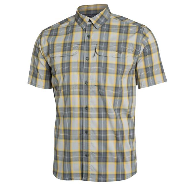 Sitka Globetrotter Shirt SS Aluminum Plaid 80032-AP