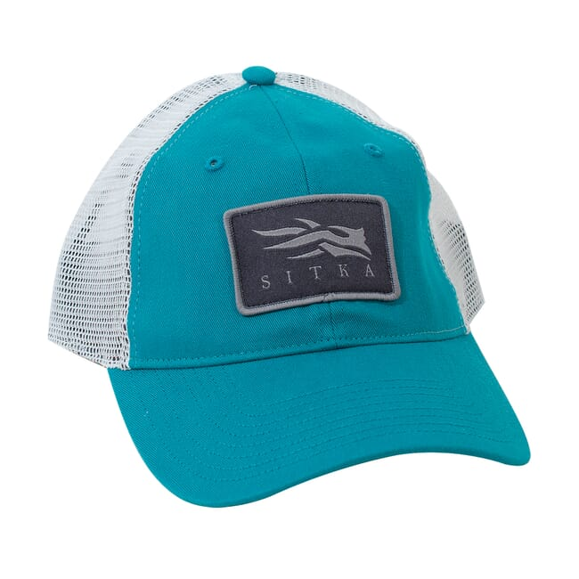 Sitka Womens Meshback Trucker Cap Teal One Size Fits All 90270-TL-OSFA