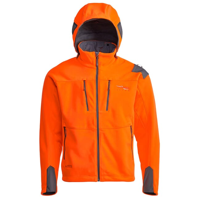 Sitka Gear Blaze Orange Stratus Jacket 50242-BL