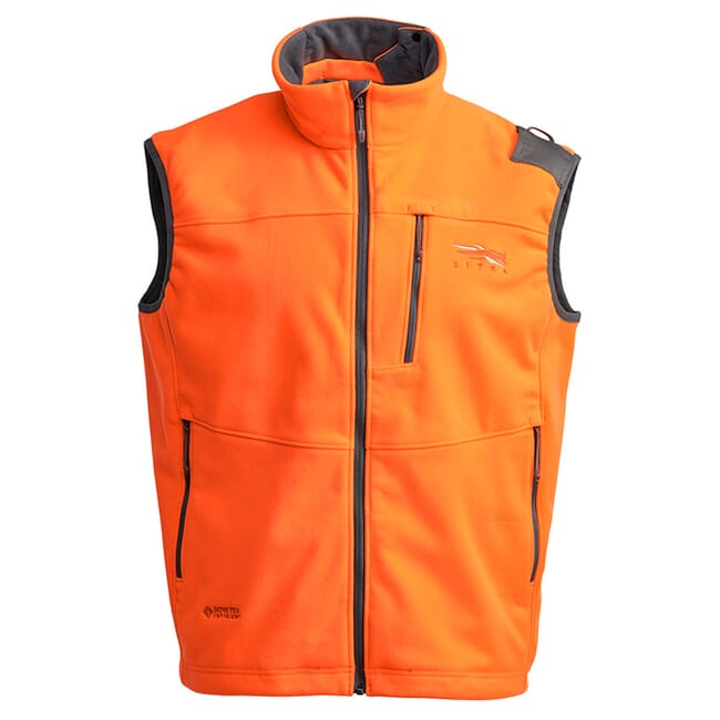 Sitka Gear Blaze Orange Stratus Vest 50243-BL