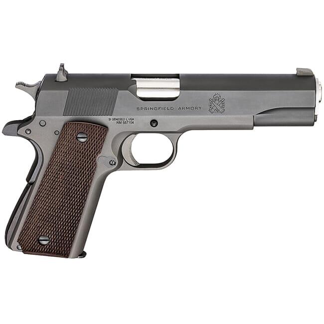 """Springfield Armory 1911 Defenders Series Mil-Spec .45 ACP, 5"""" SS Bbl, 7+1 Pistol w/ Combat Sights PB9108L"""