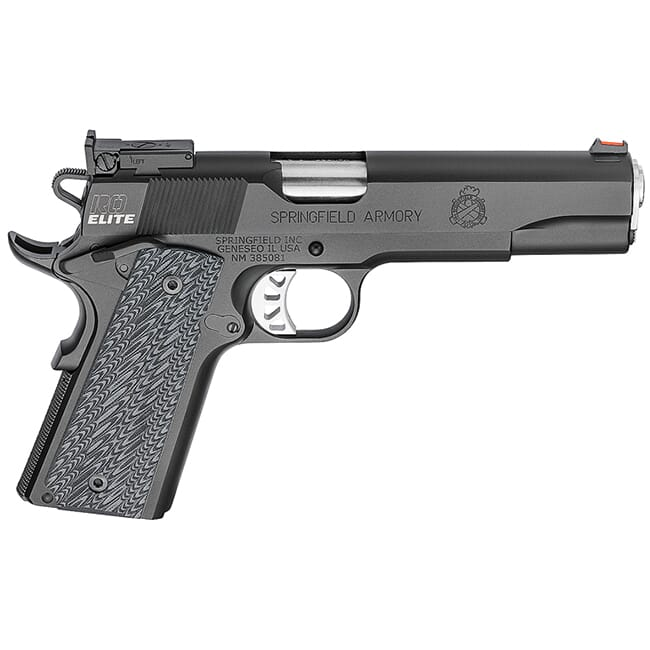 "Springfield Armory 1911 Range Officer Elite .45ACP 5"" (2) 7rd Mags Black-T PI9128E"