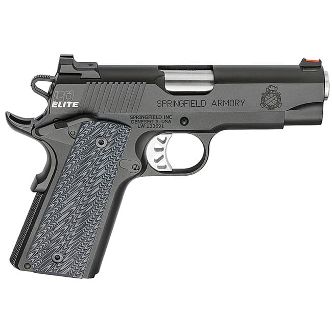 "Springfield Armory 1911 Range Officer Elite Champion 9MM 4"" (2) 9rd Mags Black-T PI9137E"