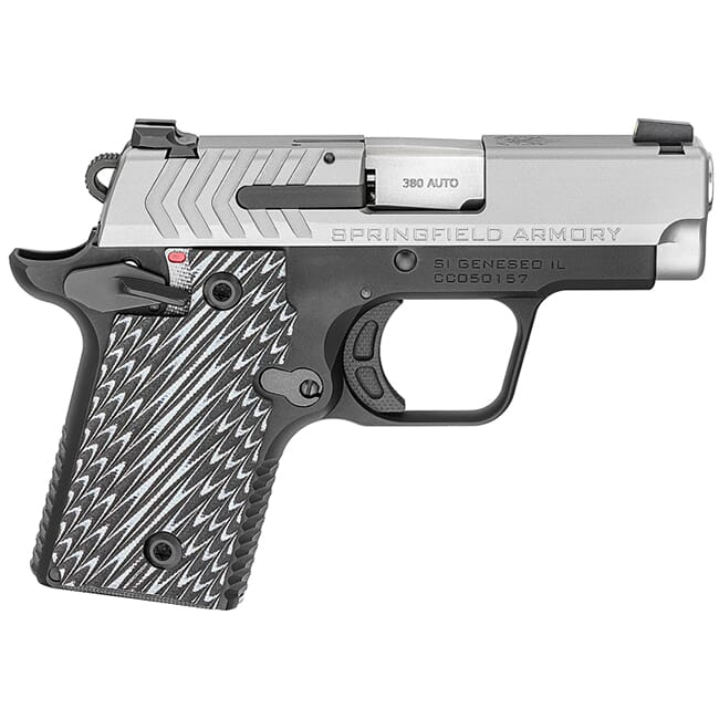 Springfield Armory 1911 .380 ACP Stainless (w/ 2 magazines) PG9109S