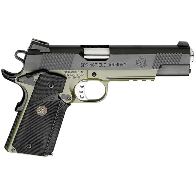 "Springfield 1911-A1 5"" .45 OPERATOR MC OD/BLACK PX9105ML18"