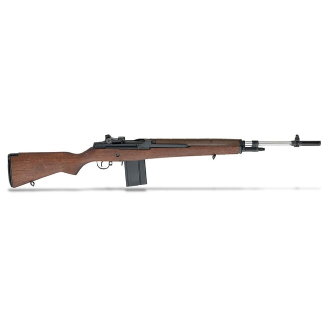 "Springfield M1A 22"" WALNUT STOCK NM STAINLESS BBL NA9802"