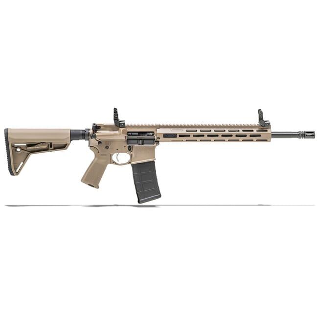 "Springfield Armory 5.56 FDE SAINT w/ Chrome Moly 16"" Barrel w/ FF Handguard, Mid Length Gas System Rifle ST916556FDEFFH"
