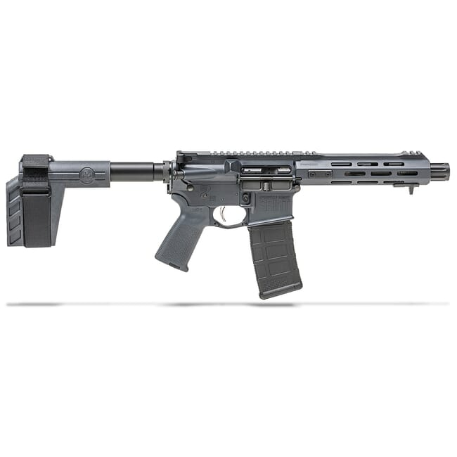"Springfield Armory 5.56 Saint 7.5"" Gray Pistol w/ Stainless Steel Barrel ST975556GRY"