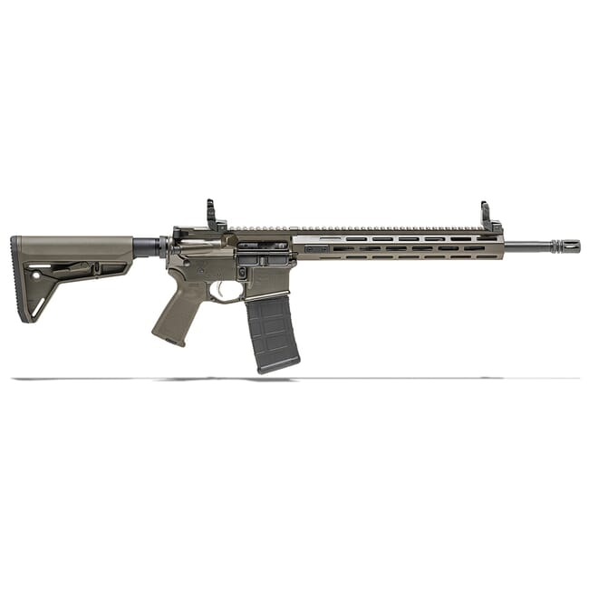 "Springfield Armory 5.56 FDE SAINT w/ Chrome Moly 16"" Barrel w/ FF Handguard, Mid Length Gas System 10-Rd Rifle ST916556FDEFFHLC"